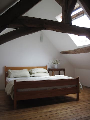 Lovely Stone Cottage - sleeps 6+ - Montreuil-Poulay - Ház
