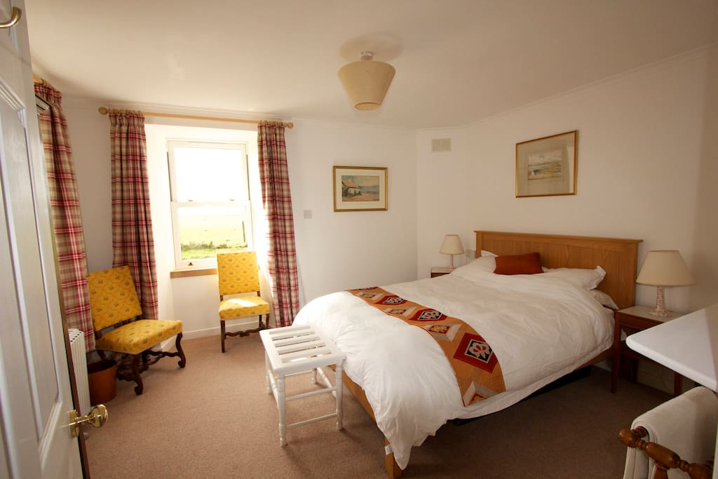 Another view of the main bedroom.