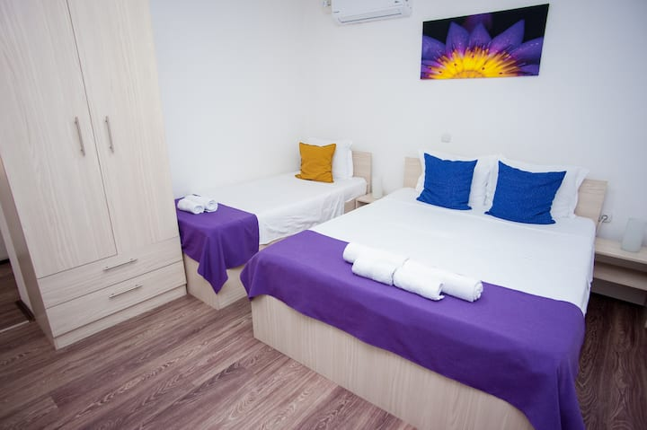 Vila Magdalena Triple room
