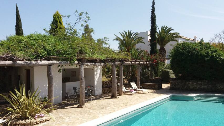 Spacious Cortijo with private pool on eco finca