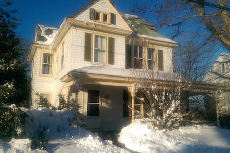 Large 3rd Flr Studio/in-town, ferry - Tisbury - House