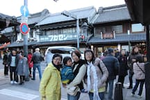 Kawagoe is the streets similar to Kyoto.