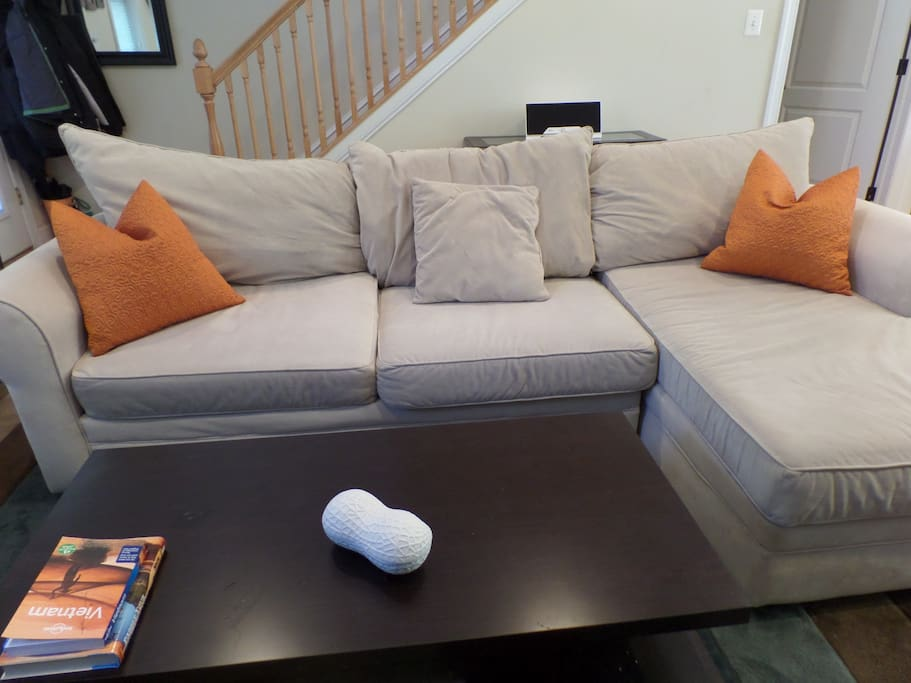 Awesome sectional for family time!