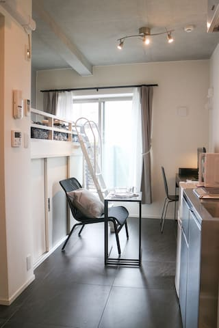 NEW Modern Designer's Room! Kanda River - Toshima - Apartment