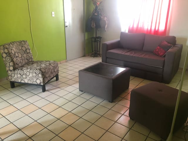 Acogedora habitación en departamento compartido