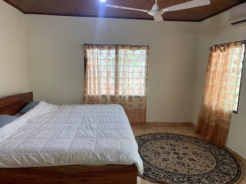 Fully furnished one bedroom House