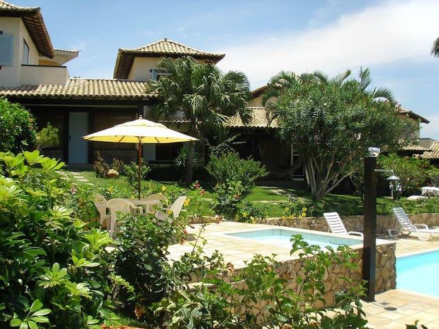 Linda casa na Praia de João Fernandes
