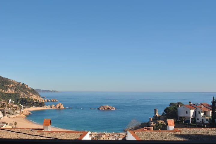 Apartamento con vistas Tossa de Mar
