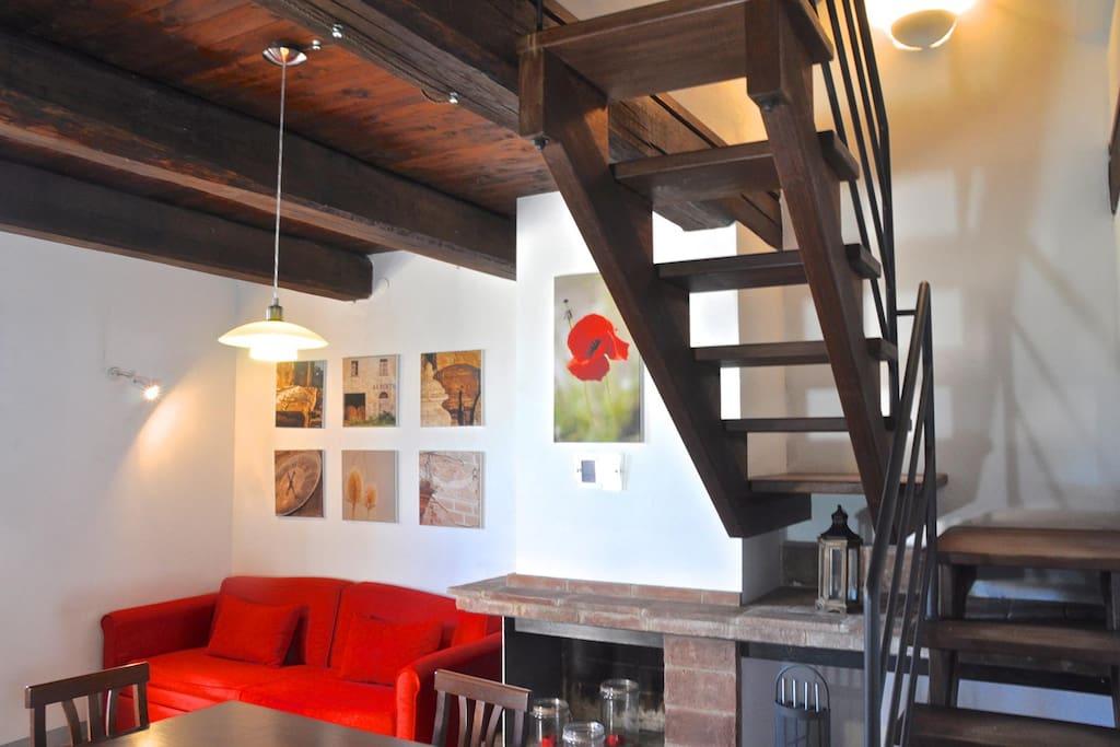 Apartment Plutone living room