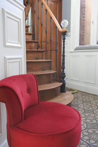 """""""Chez Louise"""" - chambre d'hôtes n°1 - Albert - House"""