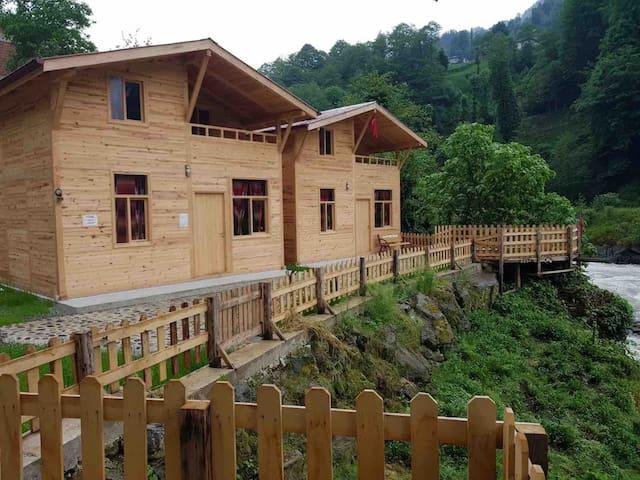 Çimen apart evleri