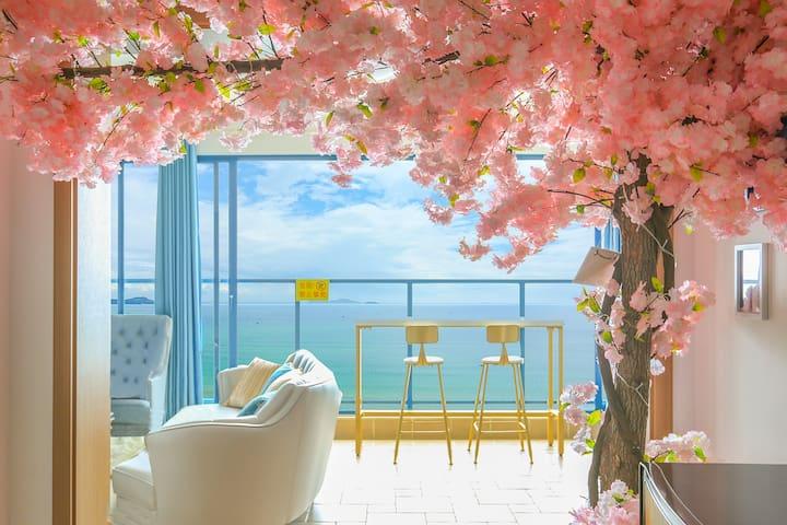 【近海无遮挡】双月湾云端一线超奢华  正面海景房(全湾区仅两套)