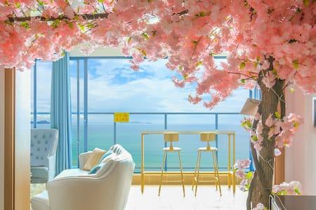 【近海无遮挡】双月湾云端一线超奢华  正面海景房(全湾区仅一套)