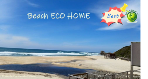 BEACH ECO HOME - Penthouse - Praia Paredes Vitoria