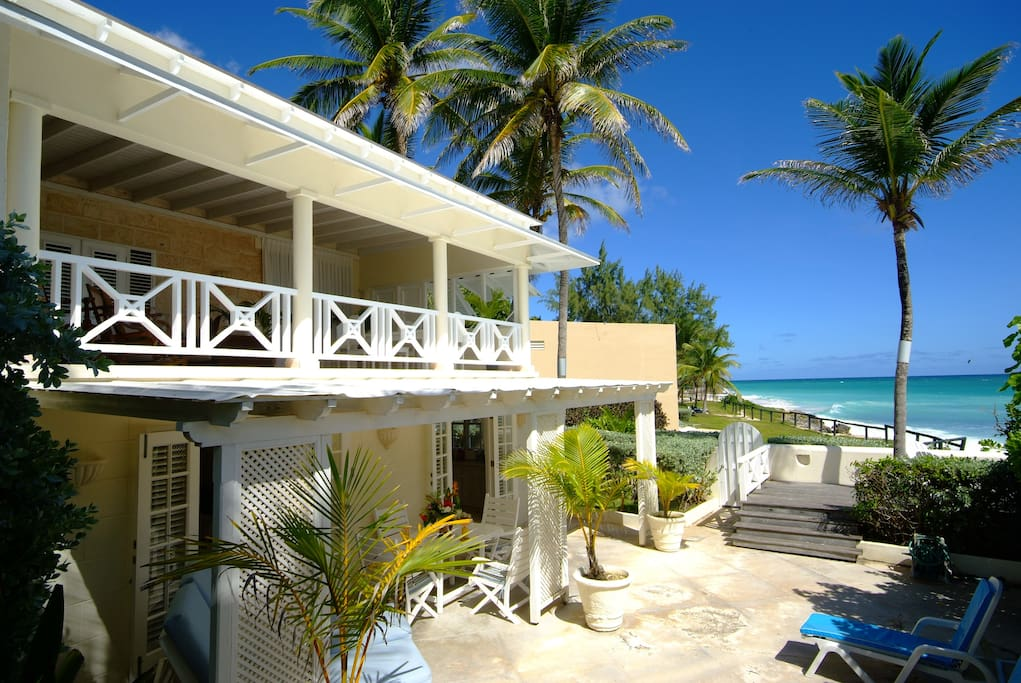 House Seaside and Silver Sands Beach