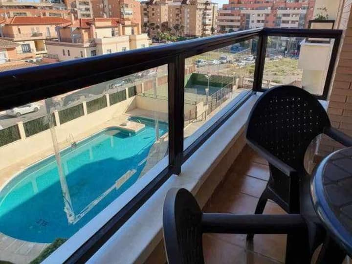 Stylish Apartments Nino Bravo [WIFI, AA, Piscina]