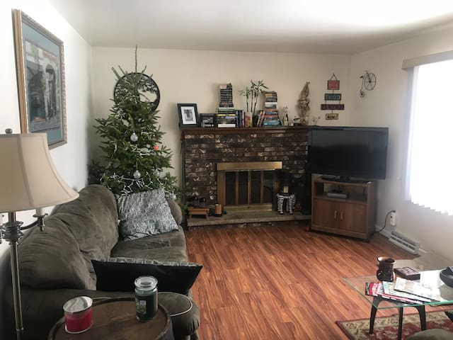 Extremely clean room in a safe neighborhood