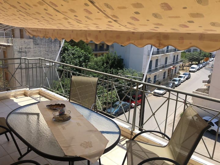 2 bedroom ap.near to sea,in the center of P.Astros