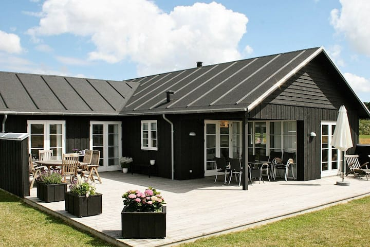 Stunning Holiday Home in Nysted with Whirlpool
