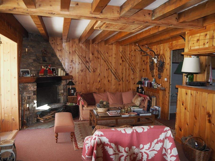 vue splendide ski aux pieds chalets louer val d 39 is re rh ne alpes france. Black Bedroom Furniture Sets. Home Design Ideas