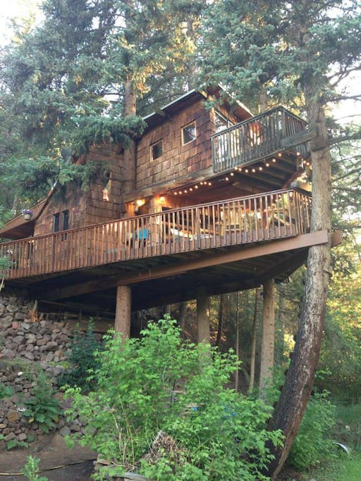 Rocky Mountain Treehouse Treehouses For Rent In