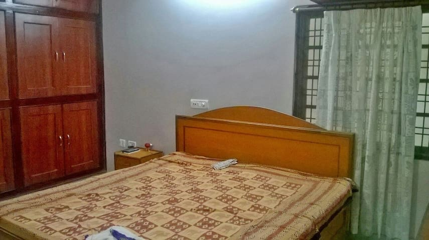 AC room HiTech City 100% Amenities