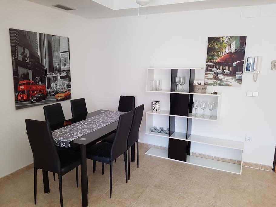 Living room Salón comedor