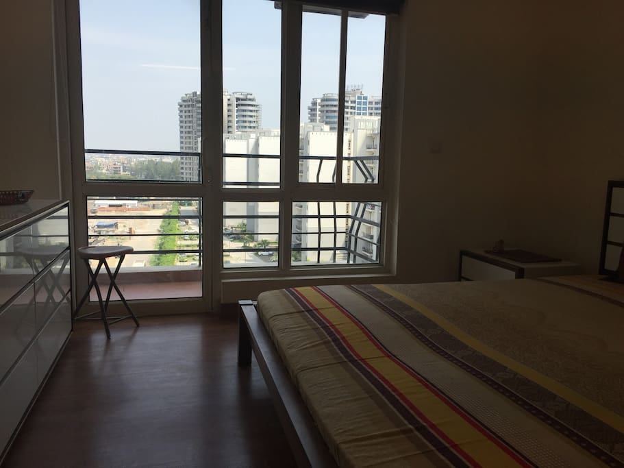 Balcony View of the Master Bedroom