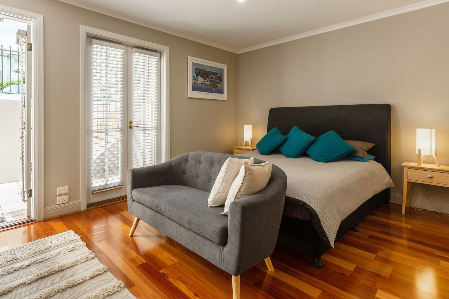 Enjoy relaxing in an air-conditioned, fully equipped apartment