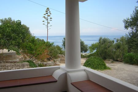salento house looking the lovely blue sea - Tricase - Huis