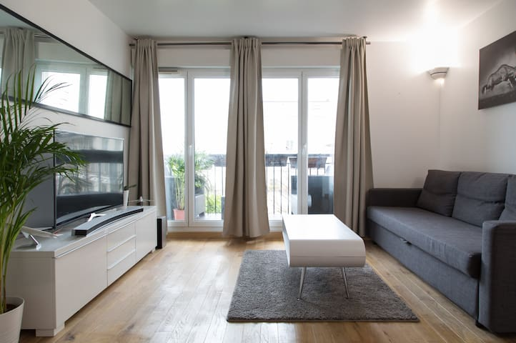 Apart PREMIUM 43m2 Disneyland/Val d'europe+parking