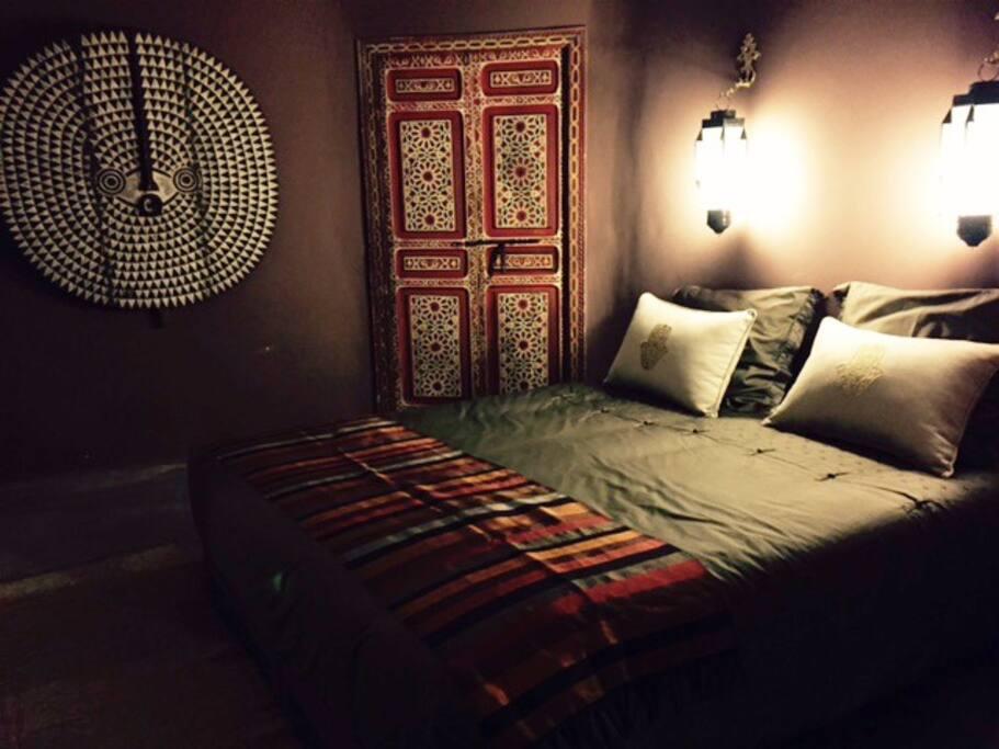 Sweet dreams in a cosy suite...