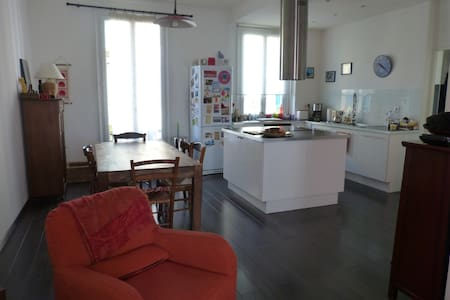 Grand appartement à Nice - Nice - Apartment