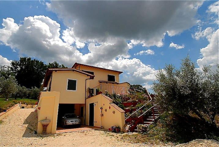 Prachtige vrijstaande villa Spoleto - Spoleto - Villa
