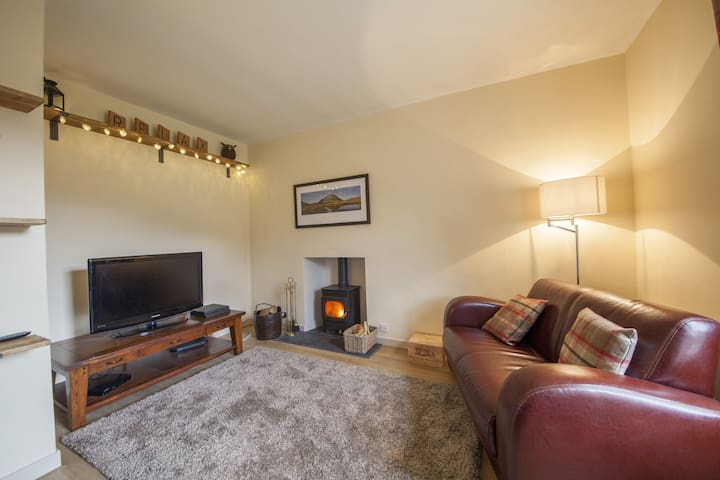 The Corner House - rustic family home in Blair Atholl, great for exploring the Cairngorm -
