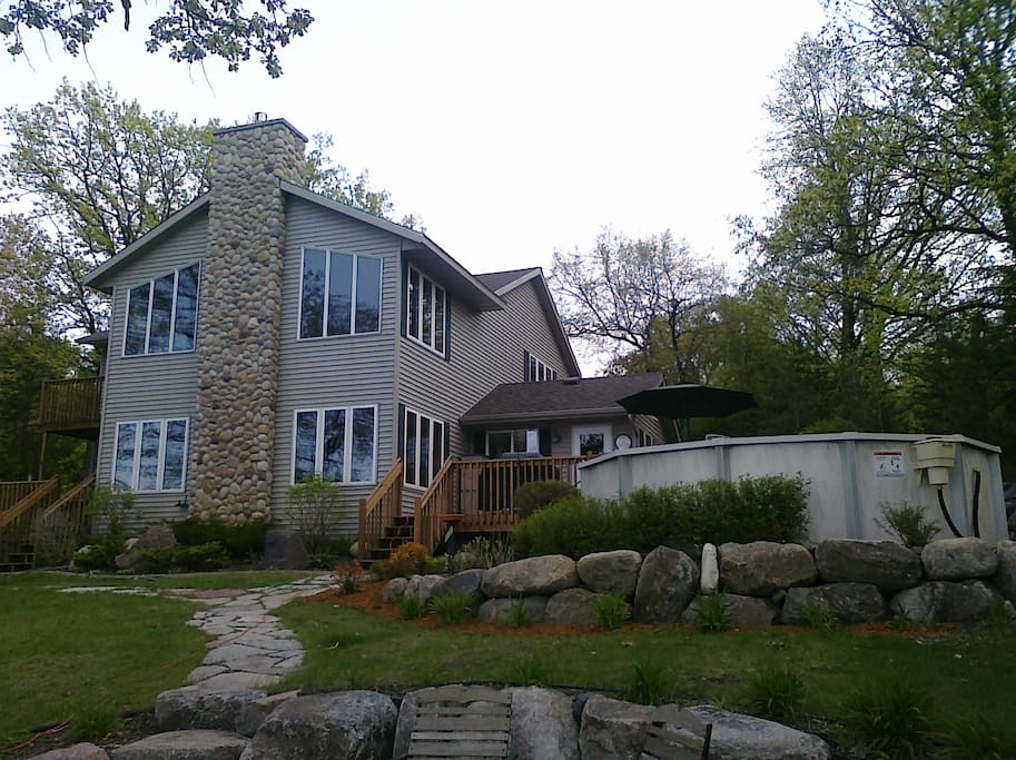 Lakeview of house