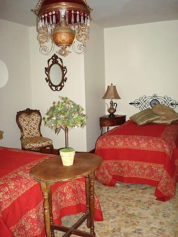 The Girls Night Inn  Room 2-3 single size beds