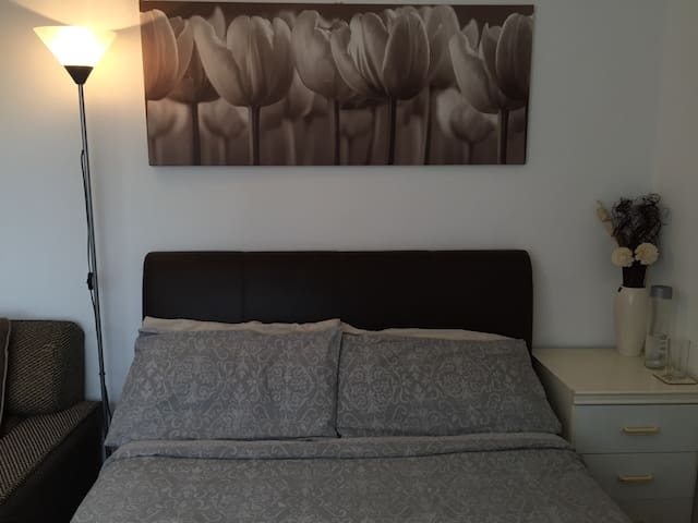 Spacious Double room in 2-Bed flat
