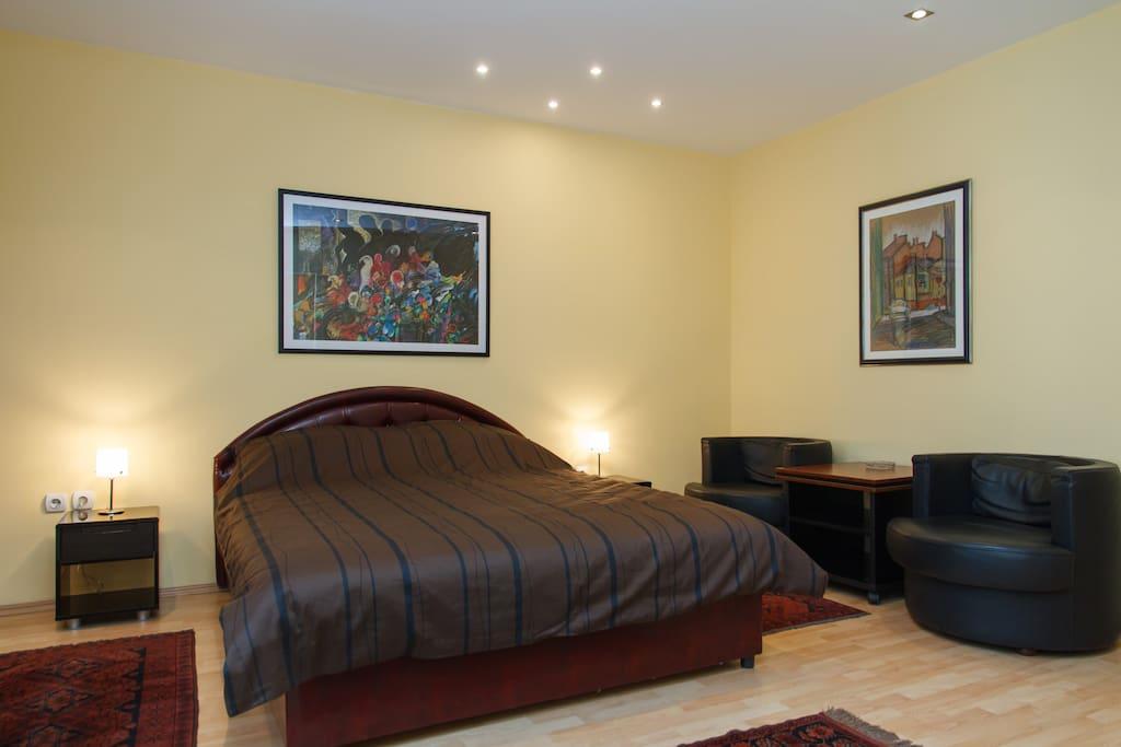 Romantic bedroom!