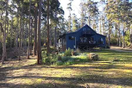 Wooded home overlooking Pirates Bay & beyond - Eaglehawk Neck - Ev