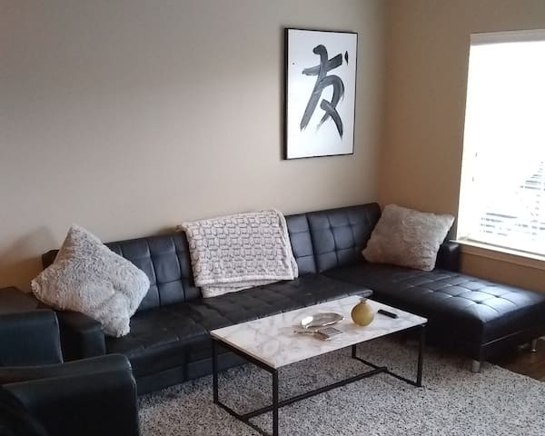 Modern Apartment Minutes From Downtown