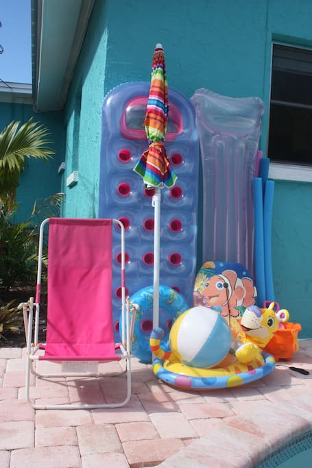 All the beach and pool supplies you'll need