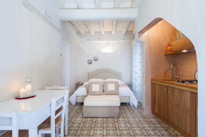 Antico Mondo Rooms & Suites : Camera Matrimoniale Depandance