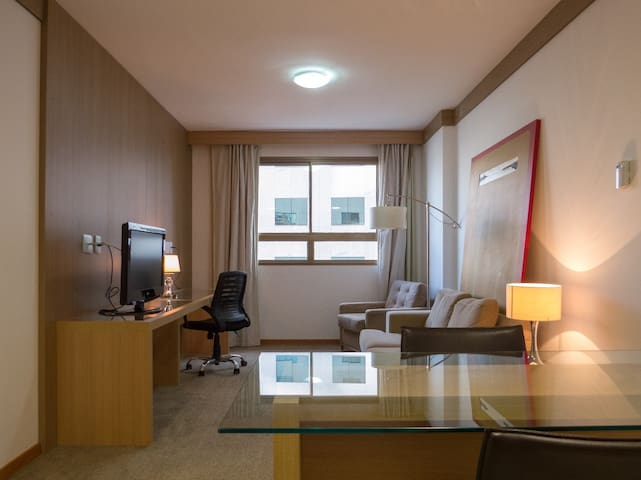 Flat no Melhor Hotel 5 * de Brasília - Brasil 21.