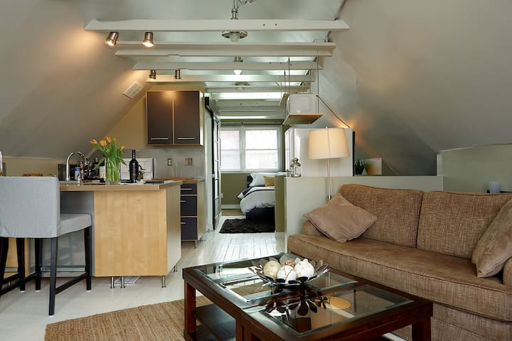 Cozy Modern Loft - Hamilton - Apartmen