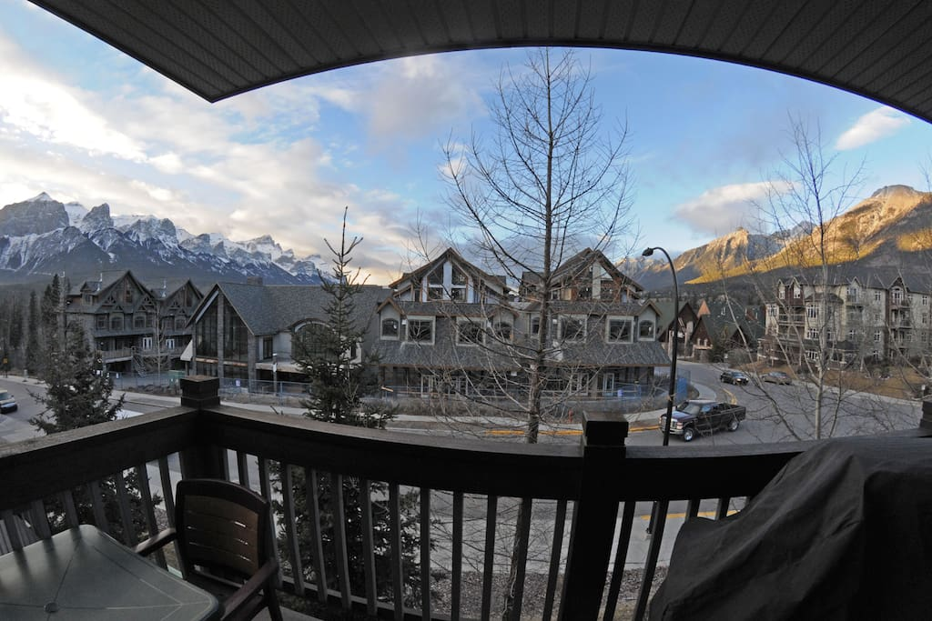 Patio View of the Bow Valley