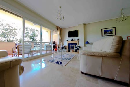 Apartment 300m from beach, fast wifi, car-parking - Marbella - Wohnung