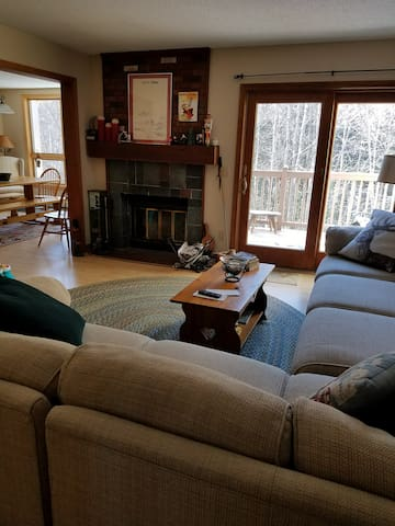 2 Level Townhouse minutes from Mt Snow