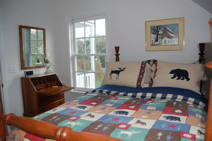 Second Bedroom with Full-Size Antique Bed