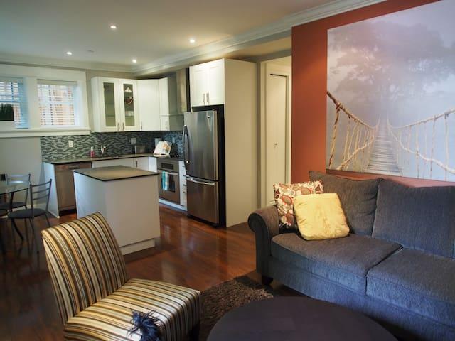 2 Bedroom suite in Kitsilano - Vancouver - Daire